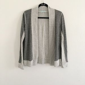 Maurices Grey Open-front Cardigan Sweater